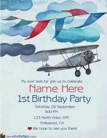 Free Birthday Invitation Cards For Whatsapp With Name