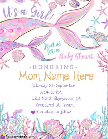 Free Printable Royal Baby Shower Invitations For Girl