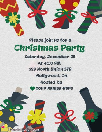 Most Liked Christmas Celebration Invitation Message For Friend