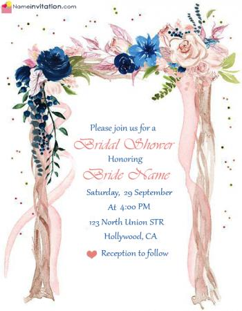 Awesome Bridal Shower Invitation Wording With Grooms Name