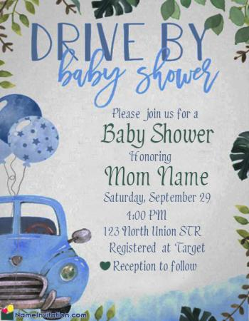 Best Indian Baby Shower Invitation Card Editable Fee Download