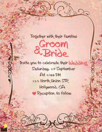 Elegant Wedding Anniversary Invitation Card Maker Online Free