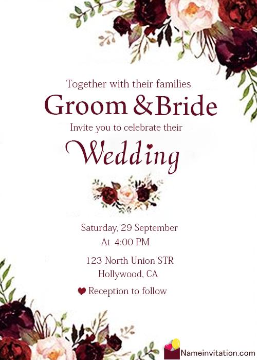 Most Beautiful Wedding Name Art